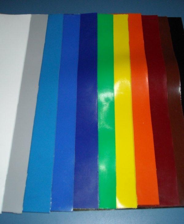 Szilikon lemez színes kivitelben